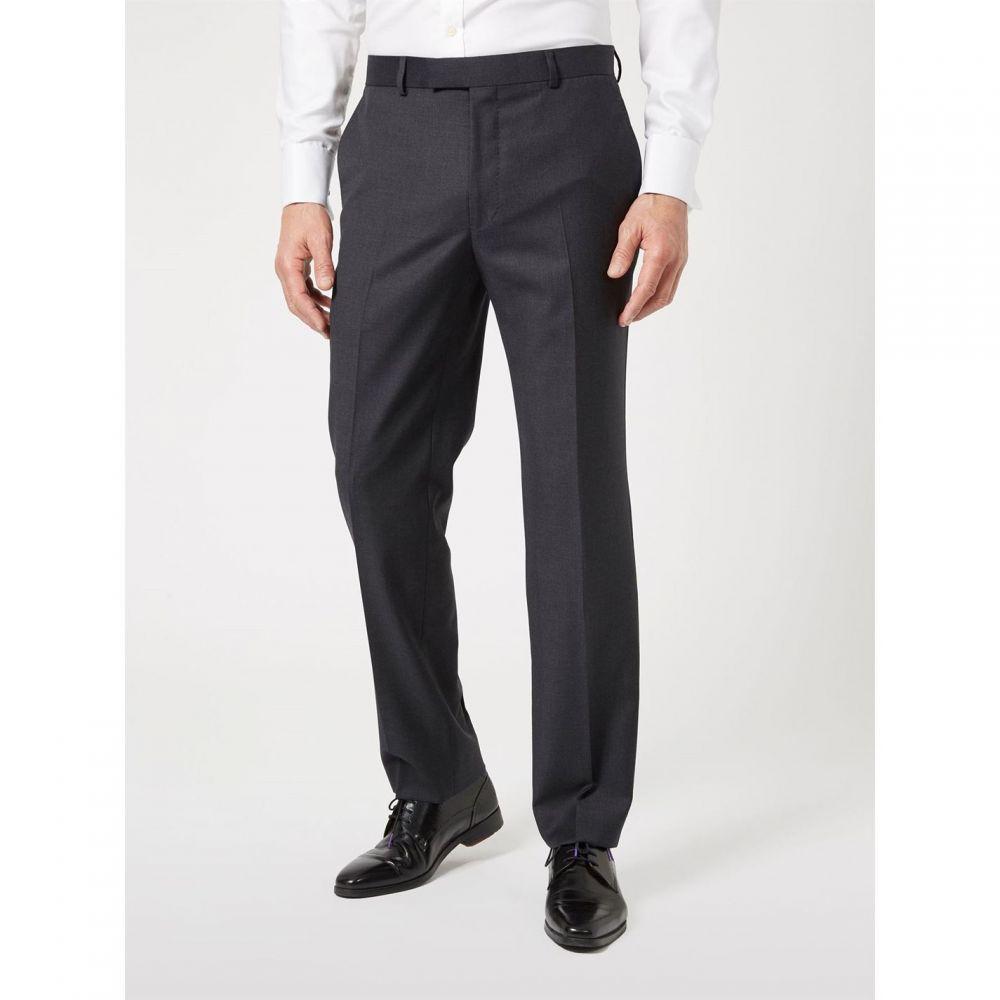 サイモン カーター Simon Carter メンズ ボトムス・パンツ スラックス【Intrepid Tailored Twill Trouser Grey】Grey