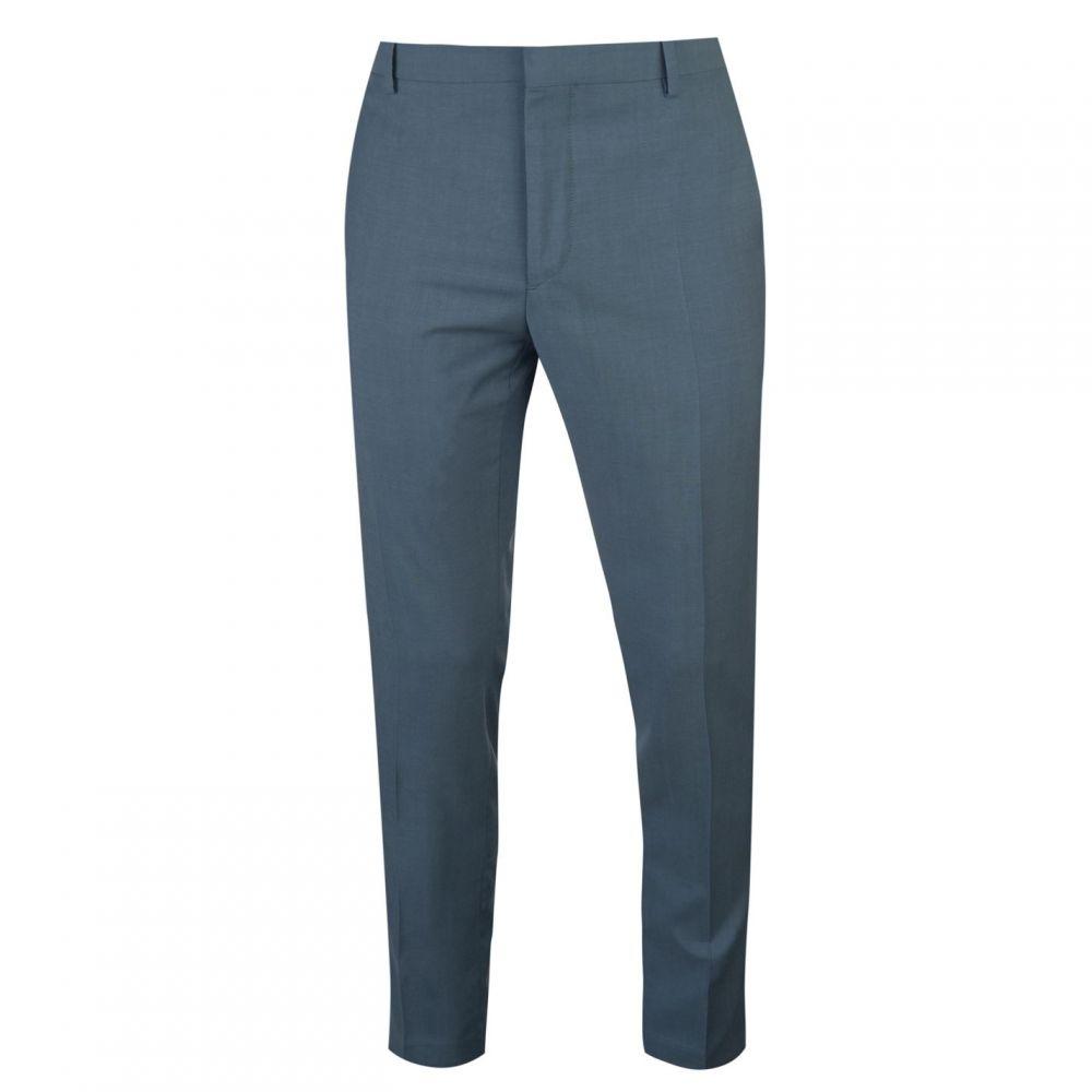 カルバンクライン Calvin Klein Tailoring メンズ ボトムス・パンツ スラックス【Two Tone Wool Tropical Suit Trousers】Blue