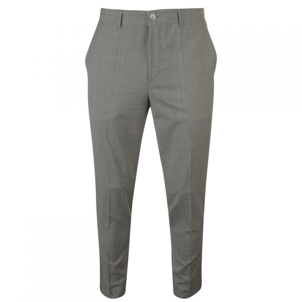 ヒューゴ ボス Hugo Business メンズ ボトムス・パンツ スラックス【Hugo Slim Fit Textured Chino Suit Trousers】Mid Grey
