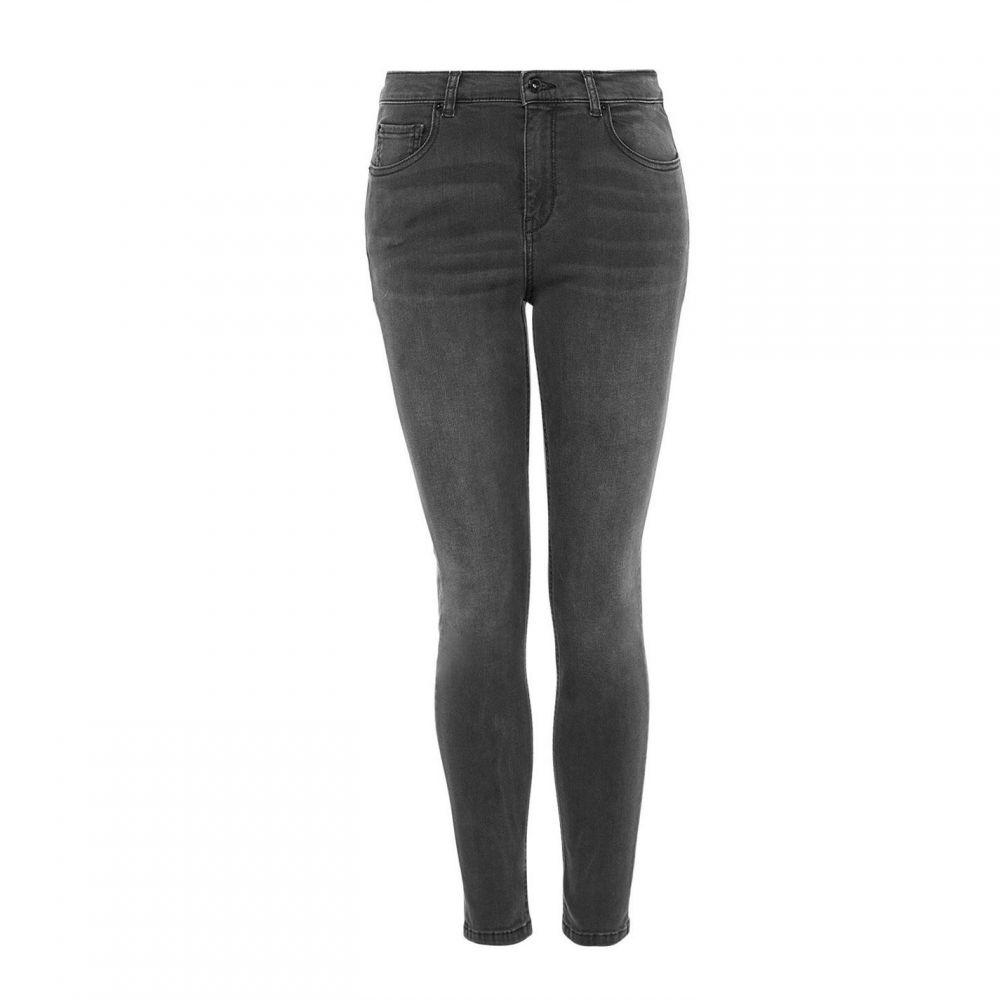 ハルフーバー Hallhuber レディース ボトムス・パンツ ジーンズ・デニム【Basic Skinny Jeans】Grey