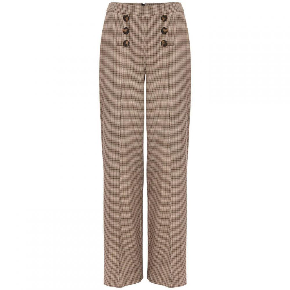 フェーズ エイト Phase Eight レディース ボトムス・パンツ【Beatrix Heritage Check Wide Leg Trouser】Neutral