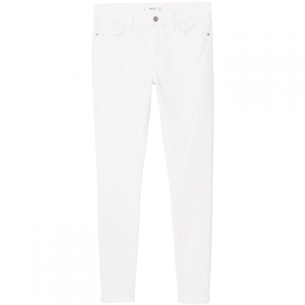 マンゴ Mango レディース ボトムス・パンツ ジーンズ・デニム【Skinny Elektra jeans】White