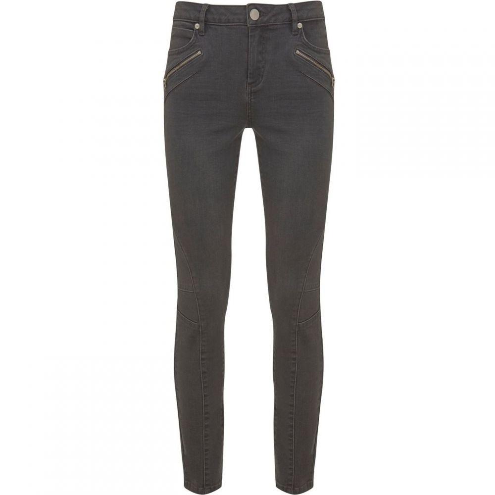 ミルトン ベルベット Mint Velvet レディース ボトムス・パンツ ジーンズ・デニム【Darby Grey Biker Skinny Jean】Grey