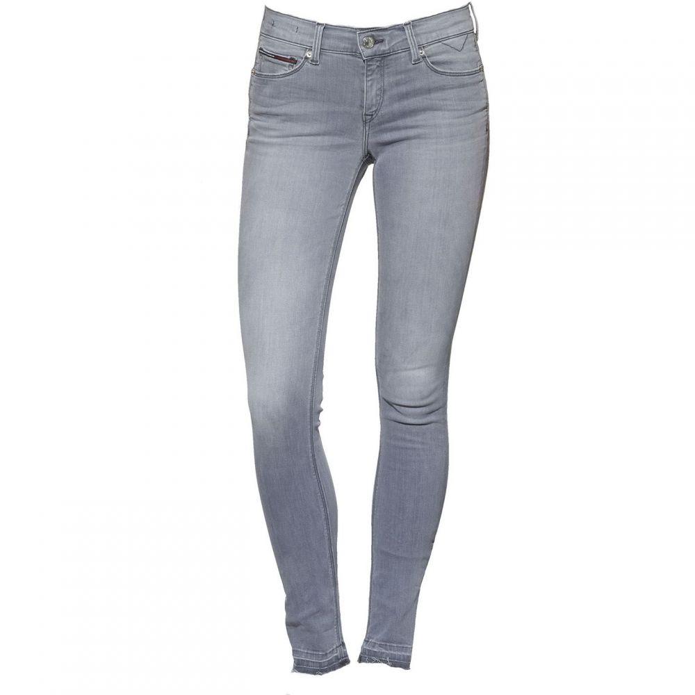 トミー ヒルフィガー Tommy Denim レディース ボトムス・パンツ ジーンズ・デニム【Tommy Jeans Mid Rise Skinny Nora Jeans】Grey Denim