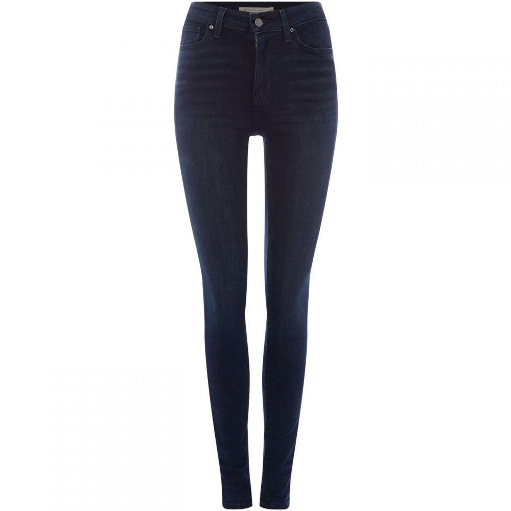 リーバイス Levi レディース ボトムス・パンツ ジーンズ・デニム【721 High Rise Skinny Jeans】Black
