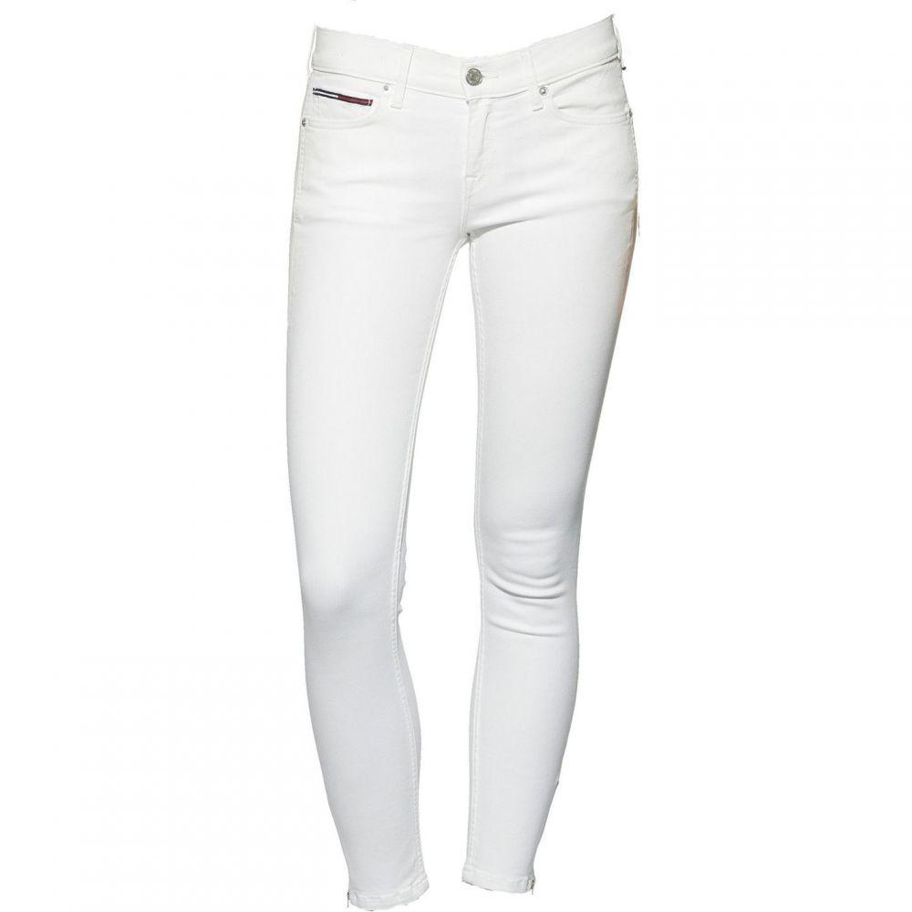 トミー ヒルフィガー Tommy Denim レディース ボトムス・パンツ ジーンズ・デニム【Tommy Jeans Mid Rise Skinny Nora Jeans】White