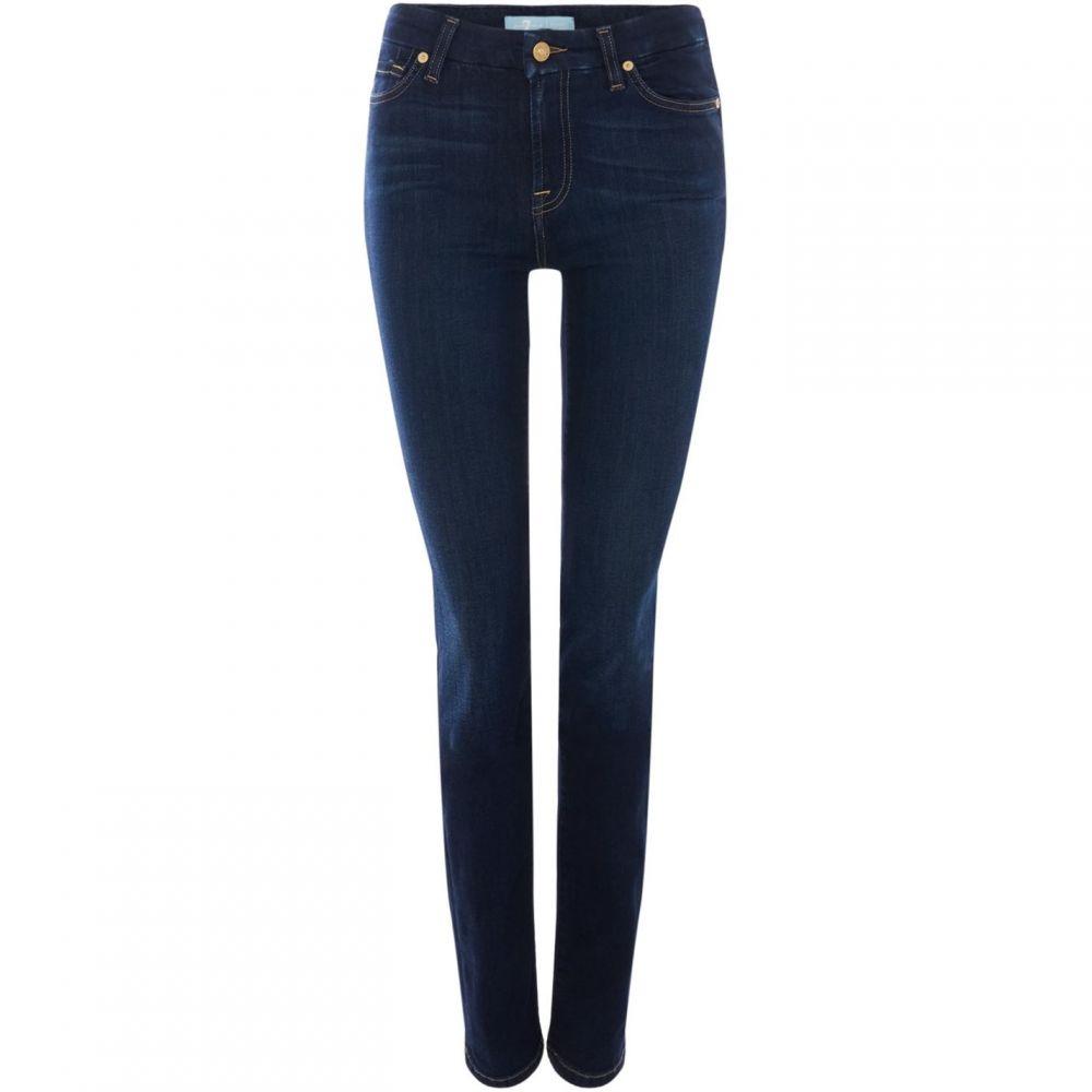 セブン フォー オール マンカインド 7 For All Mankind レディース ボトムス・パンツ ジーンズ・デニム【Kimmie Straight Bair Jeans In Rinsed Indigo】Denim Dark Wash