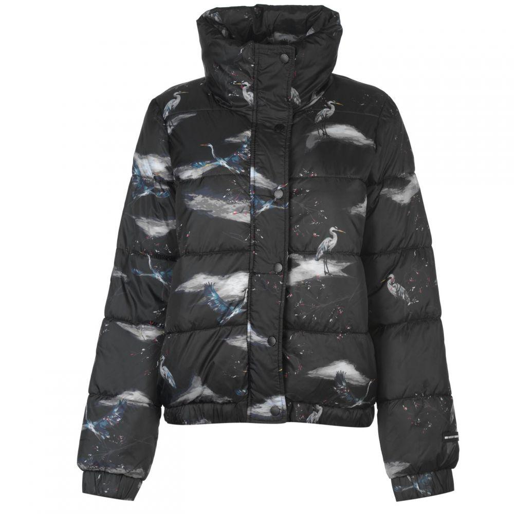 ダナ キャラン ニューヨーク DKNY レディース ランニング・ウォーキング アウター【Crane Logo Jacket】Black
