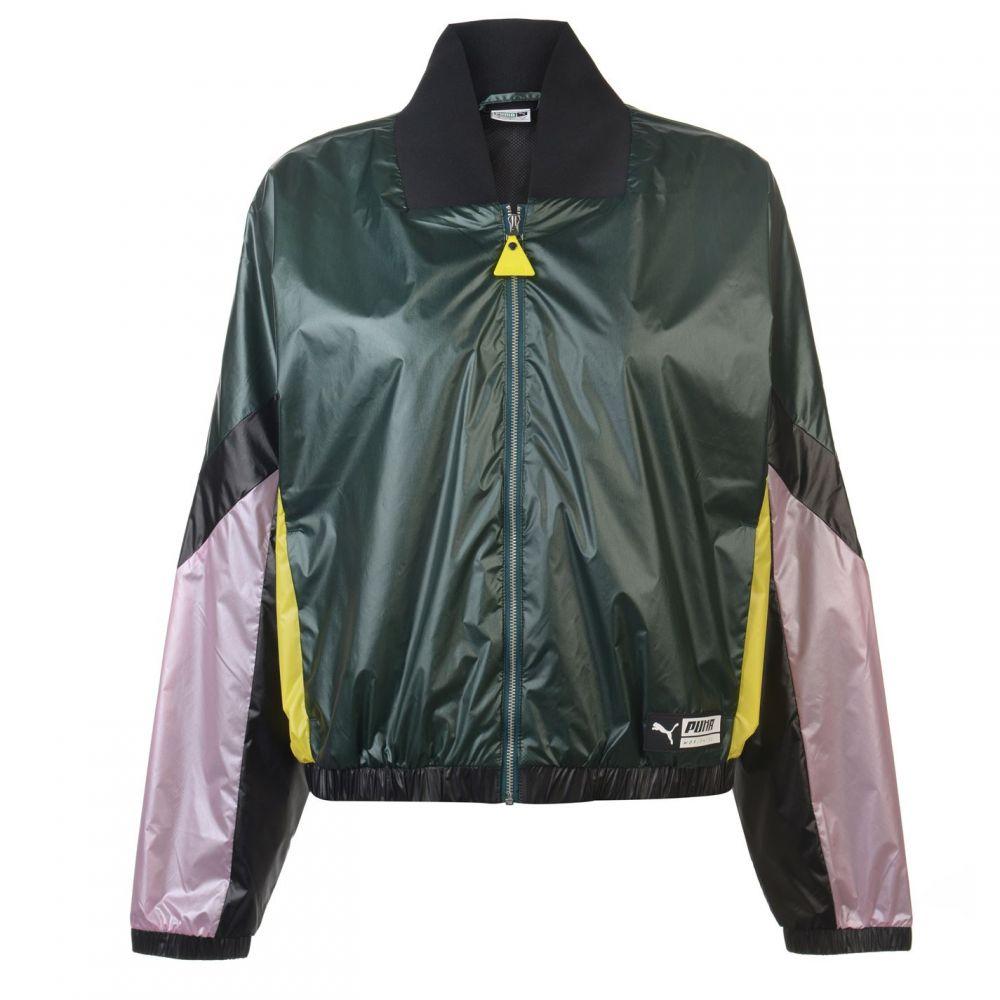 プーマ Puma レディース ランニング・ウォーキング アウター【TZ Track Jacket】Black