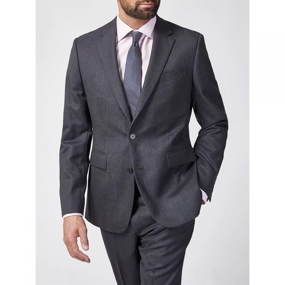 チェスター バリー Chester Barrie メンズ アウター スーツ・ジャケット【Hopsack Soho Suit Jacket】Charcoal