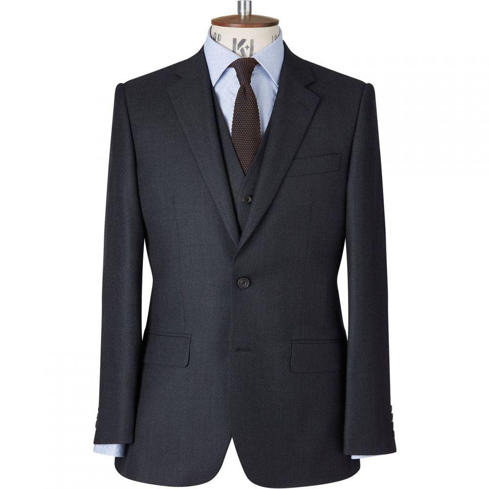 チェスター バリー Chester Barrie メンズ アウター スーツ・ジャケット【Classic Birdseye Suit Jacket】Charcoal