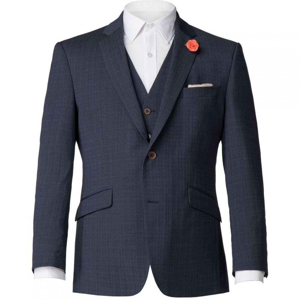 アウター Suit】Blue Gunn Texture メンズ and アストン&ガン Aston Airforce スーツ・ジャケット【Banbury