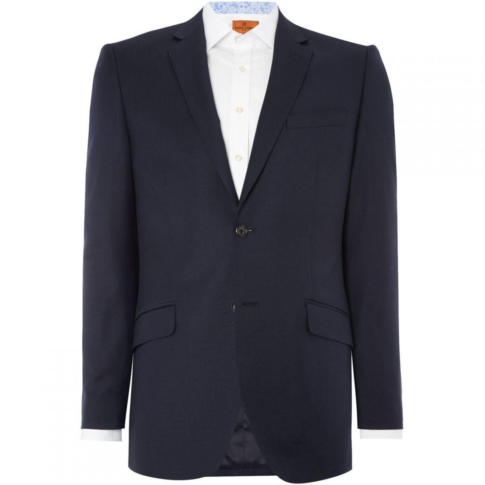 サイモン カーター Simon Carter メンズ アウター スーツ・ジャケット【Intrepid Grant Navy Suit Jacket】Navy