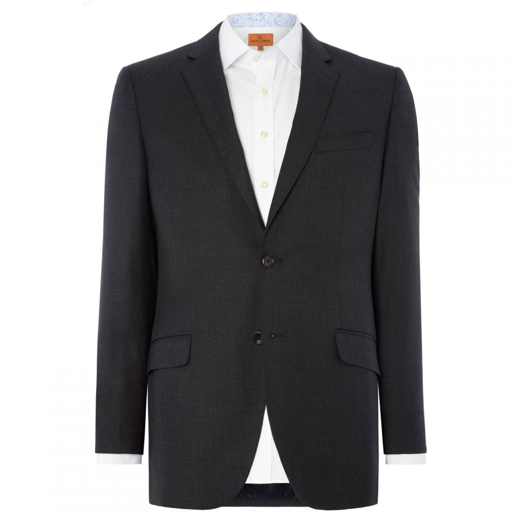 サイモン カーター Simon Carter メンズ アウター スーツ・ジャケット【Intrepid Grant Grey Suit Jacket】Grey