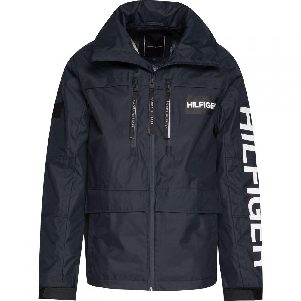 トミー ヒルフィガー Tommy Hilfiger メンズ アウター ジャケット【Tech Hooded Jacket】Navy