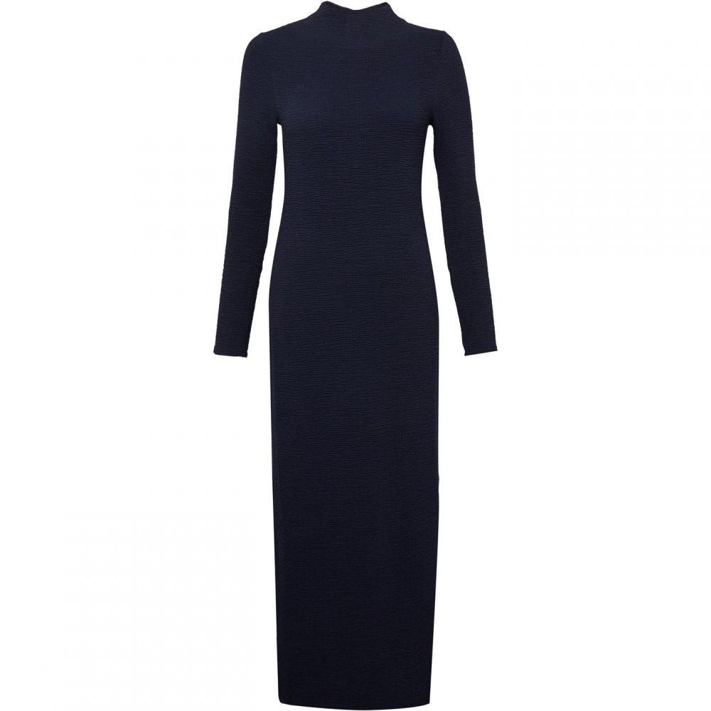 フレンチコネクション French Connection レディース ワンピース・ドレス ワンピース【Petra Texture Jersey Midi Dress】Blue