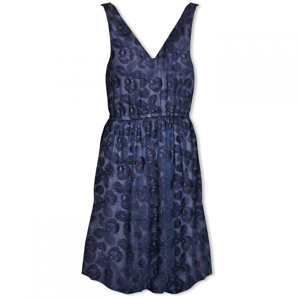 ラバンド Lavand レディース ワンピース・ドレス ワンピース【Lace Skater Dress】Blue