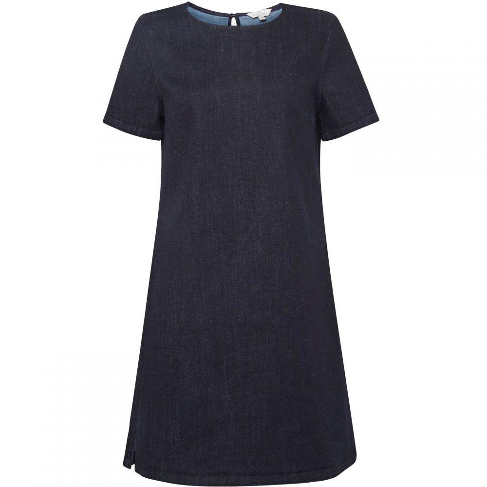 フレンチコネクション French Connection レディース ワンピース・ドレス ワンピース【Eve Denim Tee Dress】Indigo