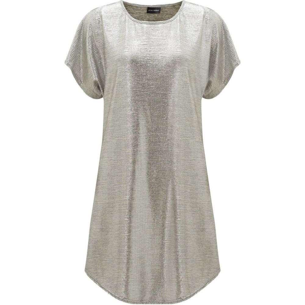 ジュームズ レイクランド James Lakeland レディース ワンピース・ドレス ワンピース【Metallic Tunic Dress】Silver Metallic