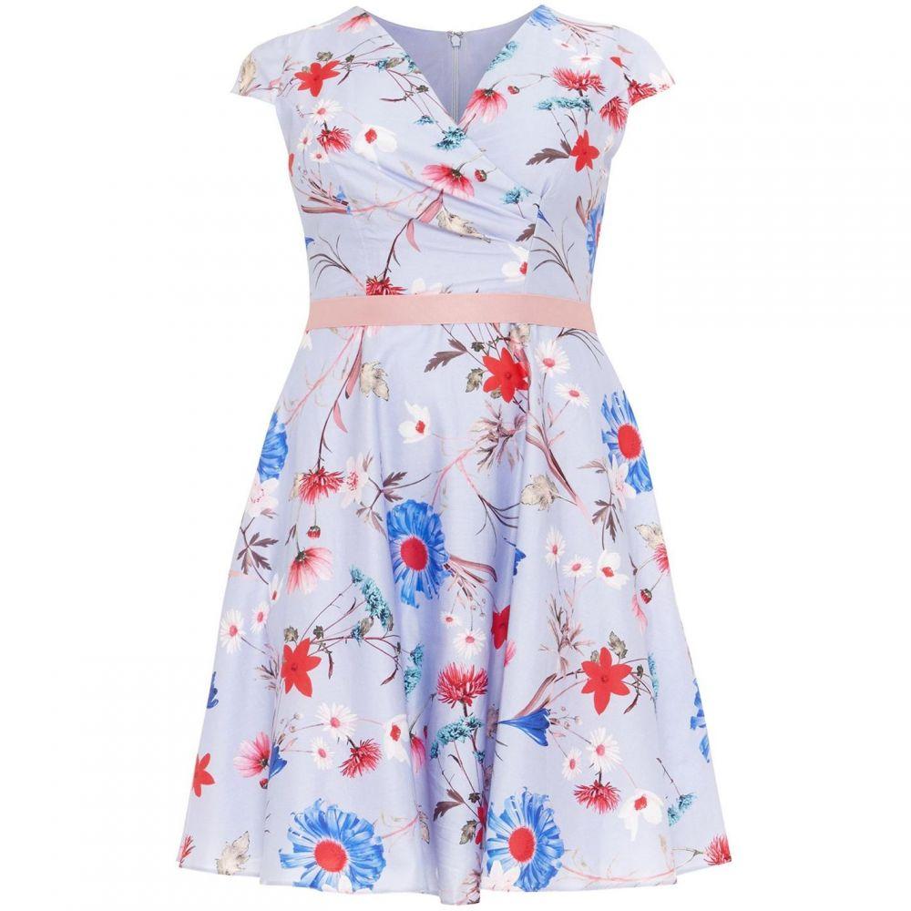 スタジオ8 Studio 8 レディース ワンピース・ドレス ワンピース【Millicent Floral Dress】Blue