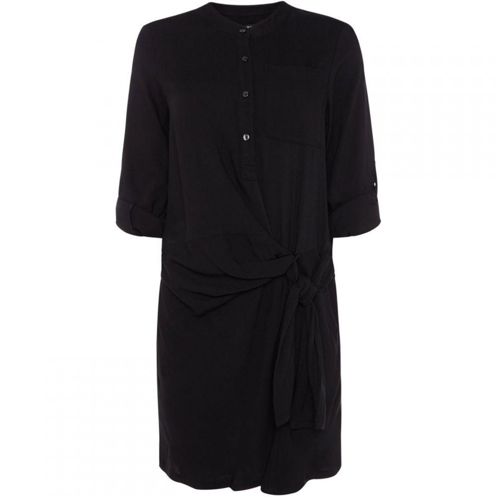 ダナ キャラン ニューヨーク DKNY レディース ワンピース・ドレス ワンピース【Gathered Waist Dress】Black