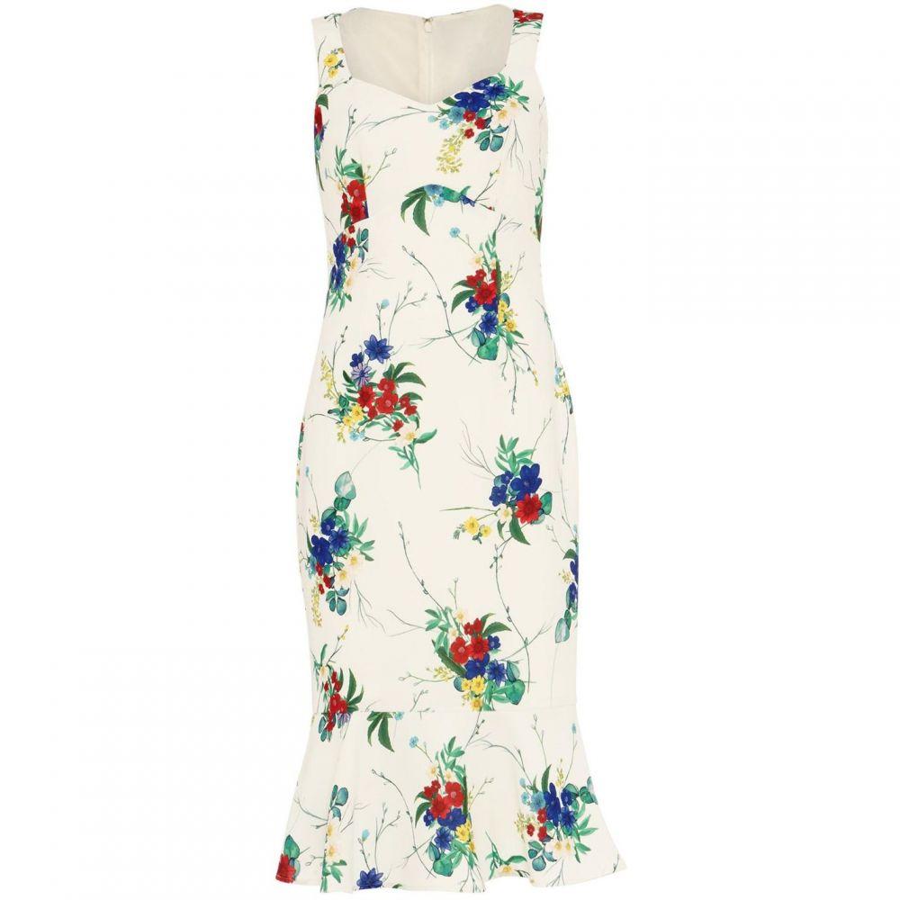 フェーズ エイト Phase Eight レディース ワンピース・ドレス ワンピース【Bethania Floral Dress】Ivory