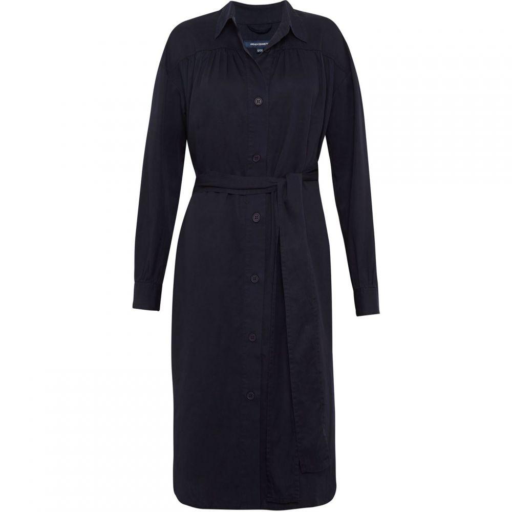 フレンチコネクション French Connection レディース ワンピース・ドレス ワンピース【Sunny Belted Shirt Dress】Utility Blue