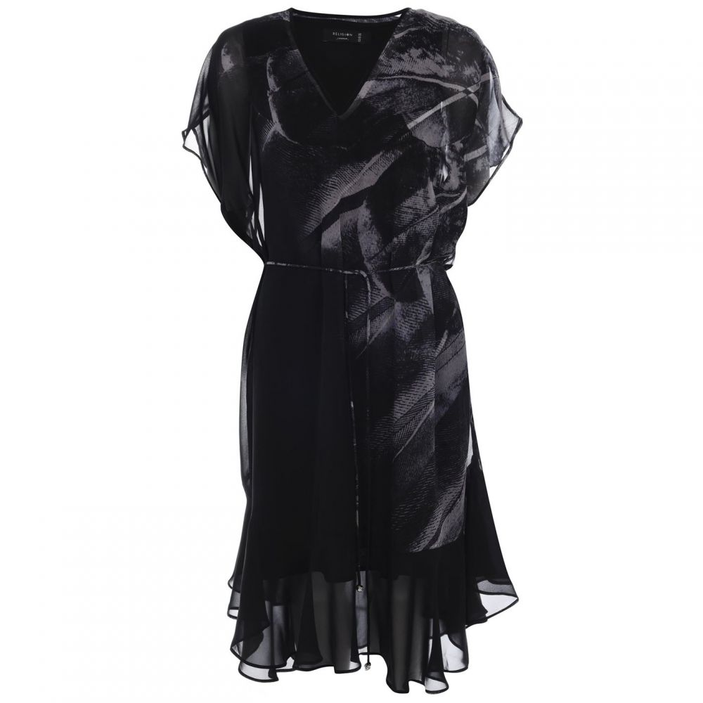 レリジョン Religion レディース ワンピース・ドレス ワンピース【Target Dress】Black/Light Gry