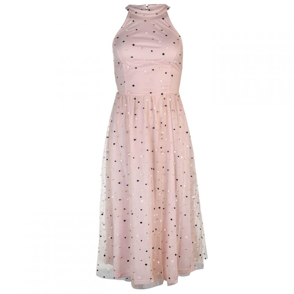 ヴィラ Vila レディース ワンピース・ドレス ワンピース【Halter Midi Dress】ROSE SMOKE
