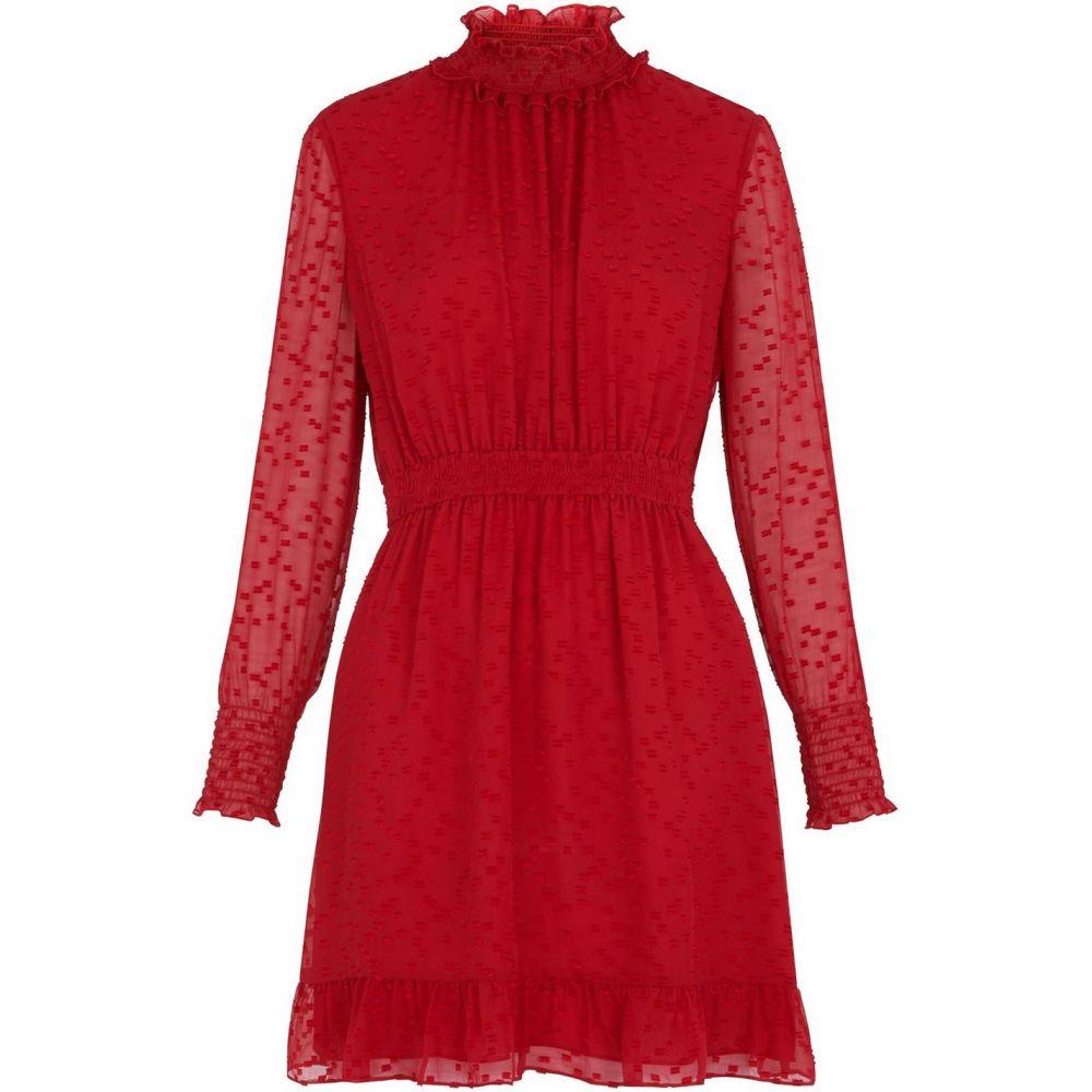 ホイッスルズ Whistles レディース ワンピース・ドレス ワンピース【Ilona Dobby Dress】Red
