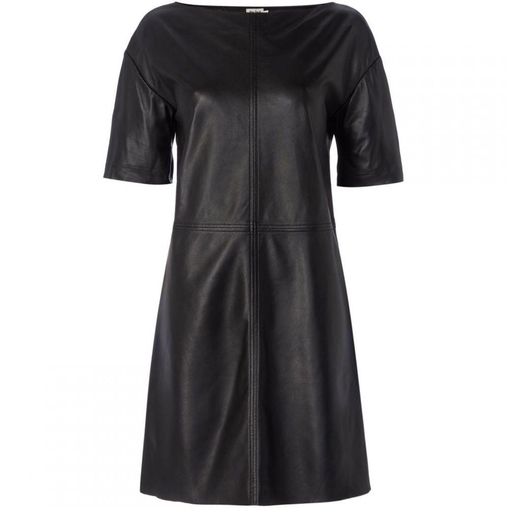 ツイストアンドタン Twist and Tango レディース ワンピース・ドレス ワンピース【Evelyn Leather Dress】Black