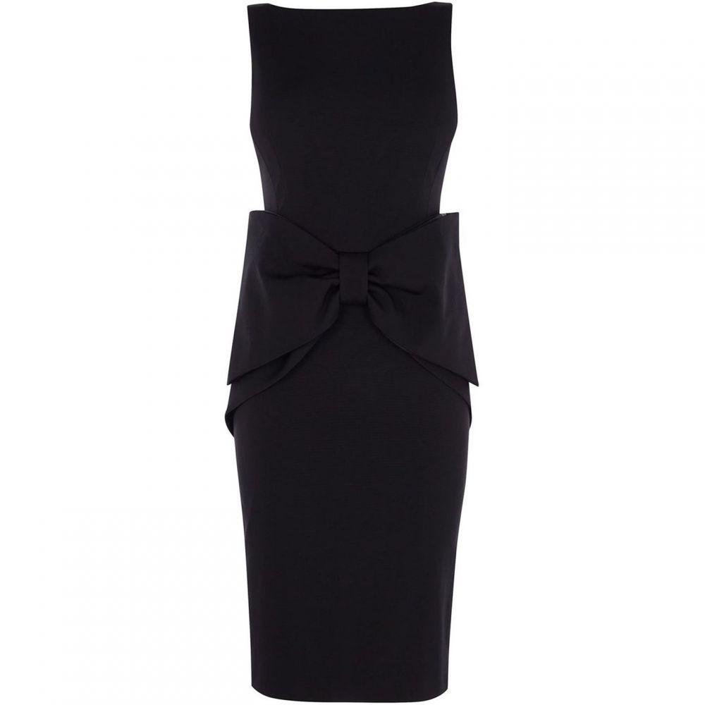 コースト Coast レディース ワンピース・ドレス ワンピース【Glamour Bow Dress】Black