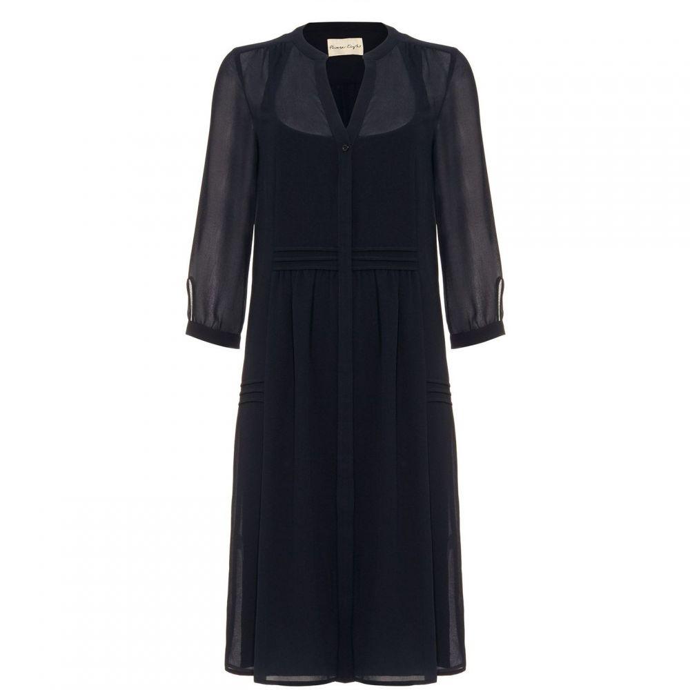 フェーズ エイト Phase Eight レディース ワンピース・ドレス ワンピース【Remee Chiffon Overlay Dress】Navy