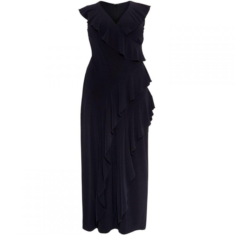 スタジオ8 Studio 8 レディース ワンピース・ドレス ワンピース【Lida Ruffle Maxi Dress】Navy