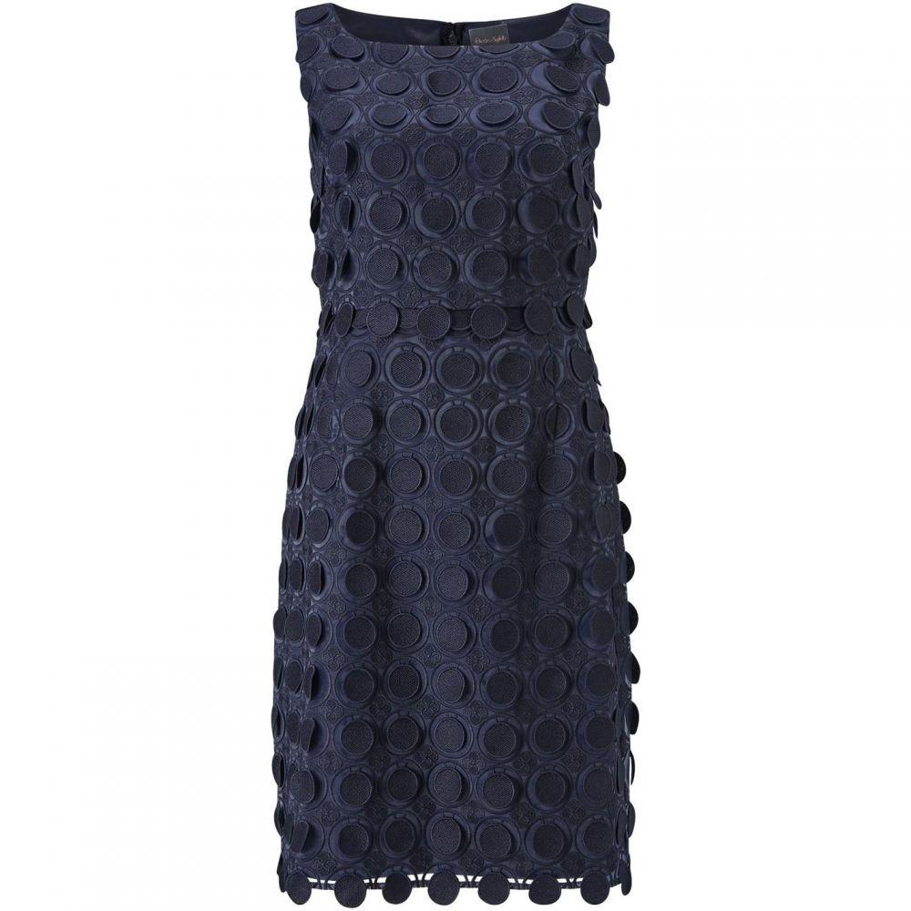 フェーズ エイト Phase Eight レディース ワンピース・ドレス ワンピース【Violetta Circles Lace Dress】Navy