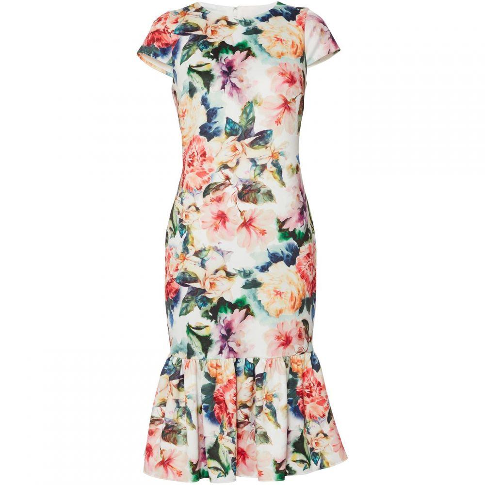 ジーナ バッコーニ Gina Bacconi レディース ワンピース・ドレス ワンピース【Harlene Lace Maxi Dress】Poppy