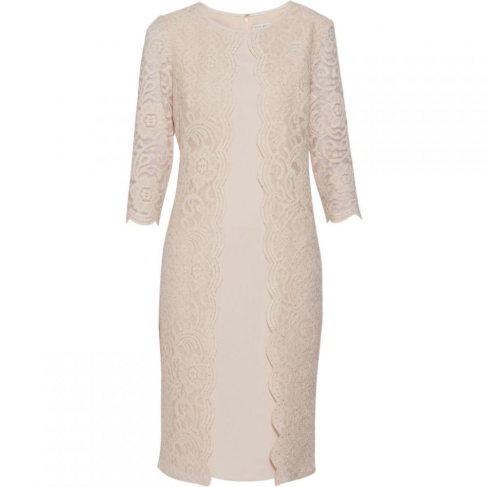 ジーナ バッコーニ Gina Bacconi レディース ワンピース・ドレス ワンピース【Clarabelle Lace Dress】Pink