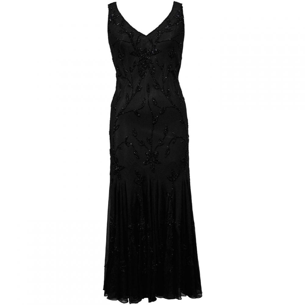 チェスカ Chesca レディース ワンピース・ドレス ワンピース【Black All Over Beaded Dress】Black
