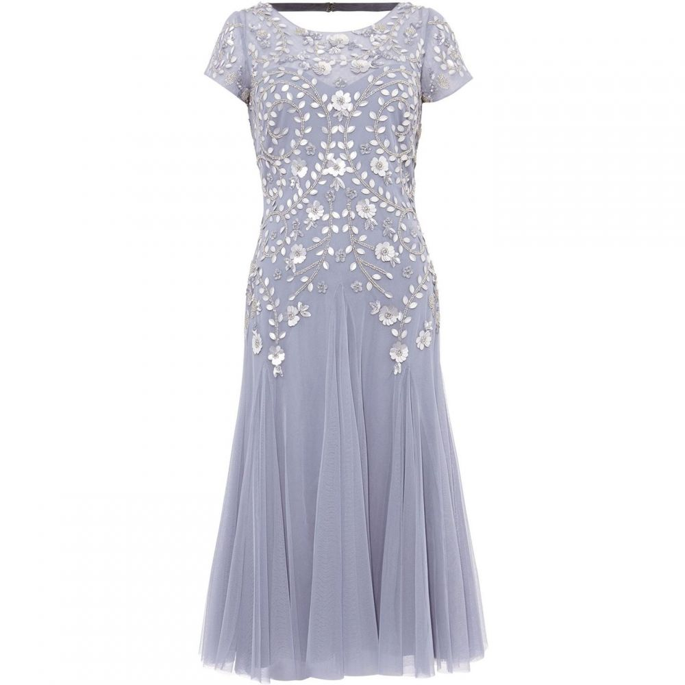 フェーズ エイト Phase Eight レディース ワンピース・ドレス ワンピース【Celia Short Sequin Tulle Dress】Lavender