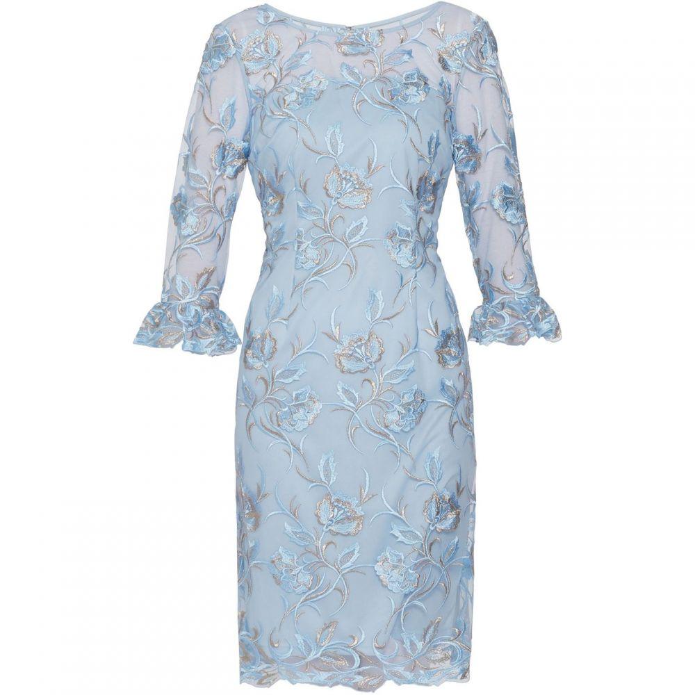 ジーナ バッコーニ Gina Bacconi レディース ワンピース・ドレス ワンピース【Denise Lace Dress】Blue
