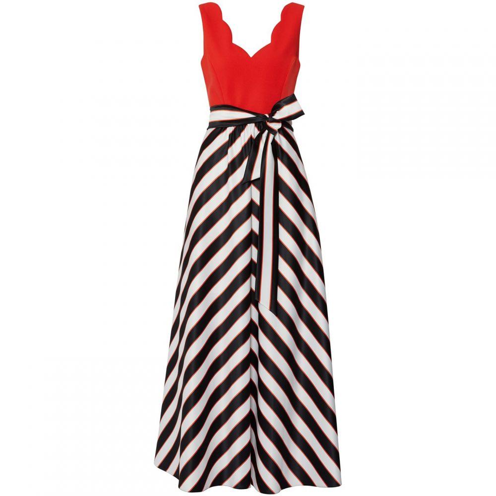 ジーナ バッコーニ Gina Bacconi レディース ワンピース・ドレス ワンピース【Tiegan Satin Jersey Dress】black multi