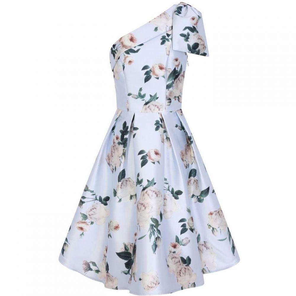 チチ Chi Chi レディース ワンピース・ドレス ワンピース【Floral Printed Midi Dress】Blue