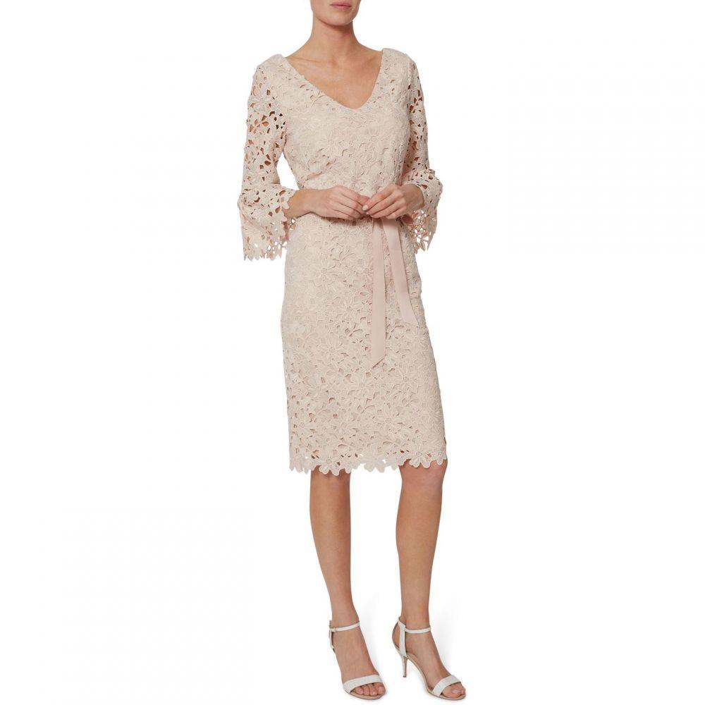ジーナ バッコーニ Gina Bacconi レディース ワンピース・ドレス ワンピース【Chyna Embroidered Dress】Pink