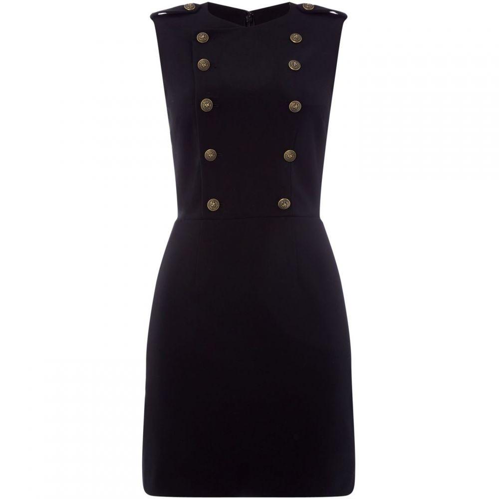 ラルフ ローレン Polo Ralph Lauren レディース ワンピース・ドレス ワンピース【Button up detail mini dress】Black