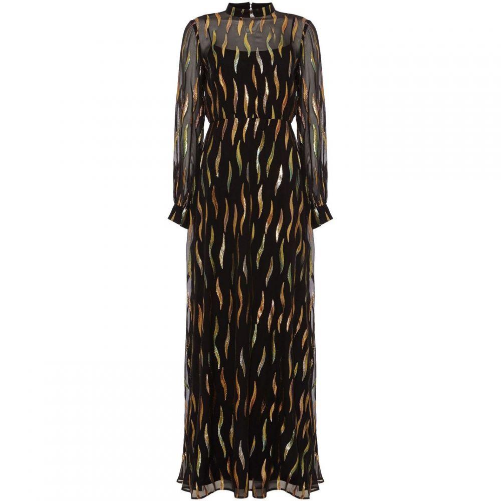 フェーズ エイト Phase Eight レディース ワンピース・ドレス ワンピース【Penny Shimmer Silk Maxi Dress】Black