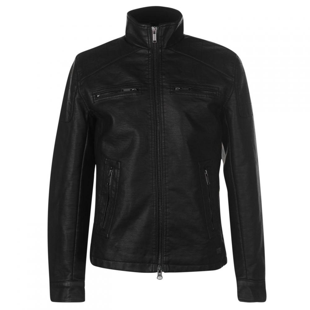 ファイヤートラップ Firetrap メンズ アウター ジャケット【PU Jacket】Black
