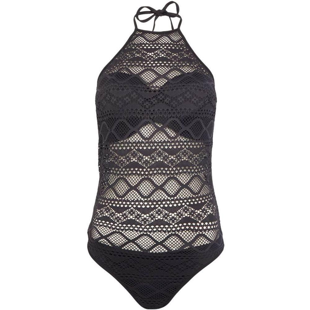 フレイヤ Freya レディース 水着・ビーチウェア ワンピース【Sundance high neck cut out swimsuit】Black