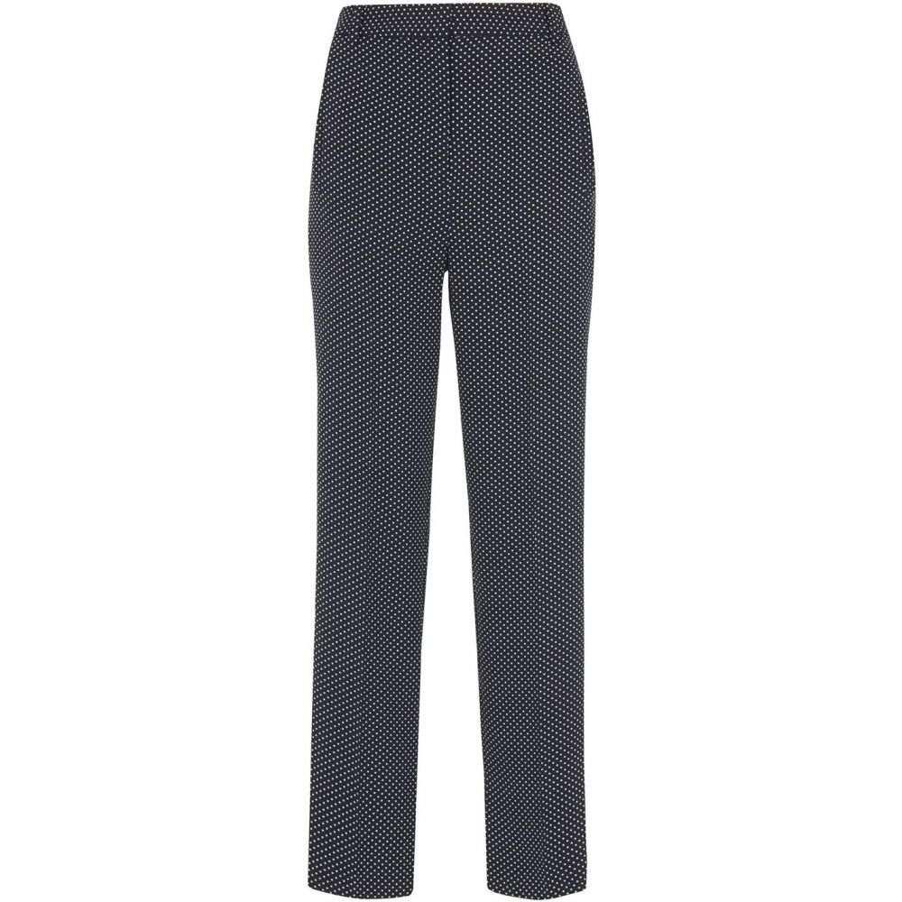 ホイッスルズ Whistles レディース ボトムス・パンツ【Mini Spot Print Trouser】Navy