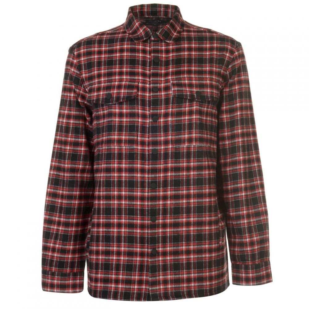 レリジョン Religion メンズ トップス【Reflect Shirt】Red/Black