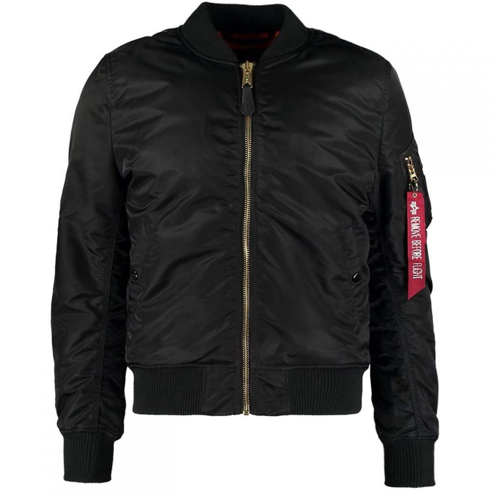 アルファ インダストリーズ Alpha Industries メンズ アウター ジャケット【MA 1 VF Previous Metal Jacket】Black
